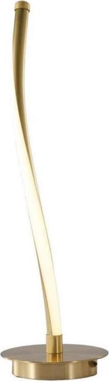 Φωτιστικό επιτραπέζιο Led αλουμινίου χρυσό 16x56cm InLight 3465-GL