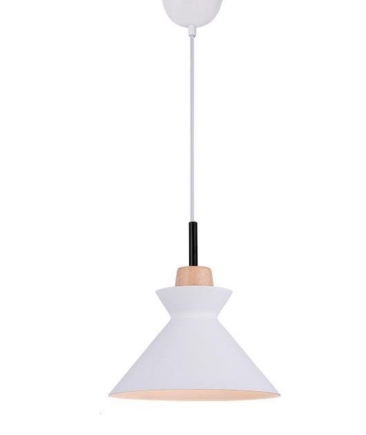 Φωτιστικό οροφής κρεμαστό μονόφωτο λευκό 150x25cm Zambelis Lights 180066