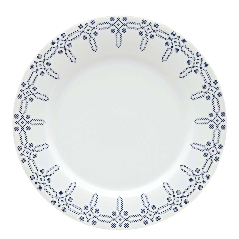 Πιάτο ρηχό στρογγυλό λευκό 27.5cm από πορσελάνη Kythera ΙΩΝΙΑ