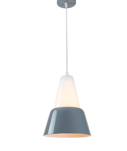 Φωτιστικό οροφής κρεμαστό μονόφωτο γκρι 178cm Zambelis Lights 180062