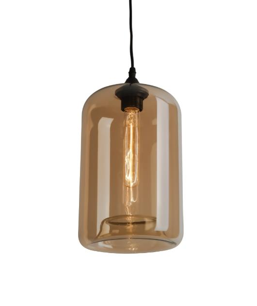Φωτιστικό οροφής κρεμαστό μονόφωτο μελί 130cm Zambelis Lights 1573