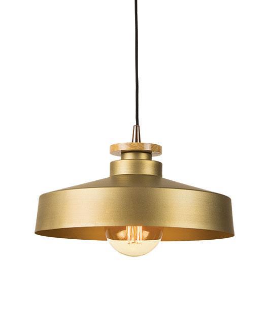 Φωτιστικό οροφής κρεμαστό μονόφωτο χρυσό 121cm Zambelis Lights 16148