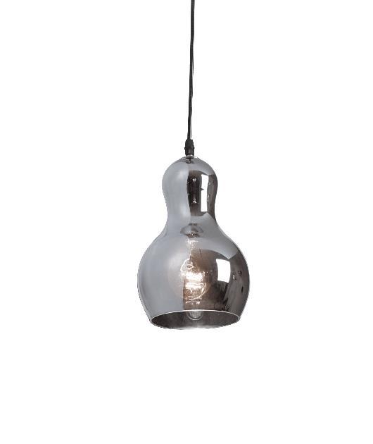 Φωτιστικό οροφής κρεμαστό μονόφωτο χρώμιο 121x15cm Zambelis Lights 1449