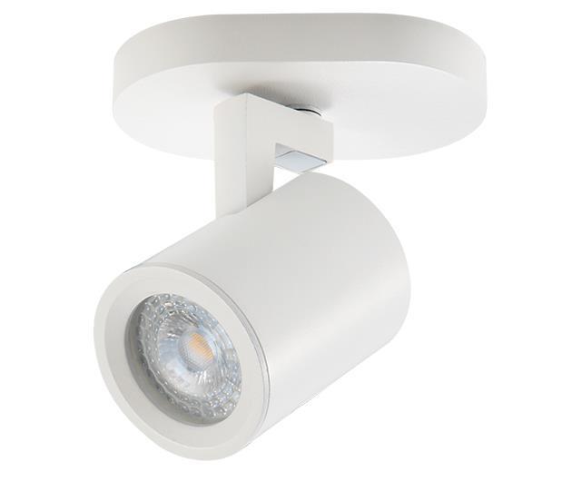 Σποτ μονόφωτο λευκό ματ 10.5x11cm Zambelis Lights 180105