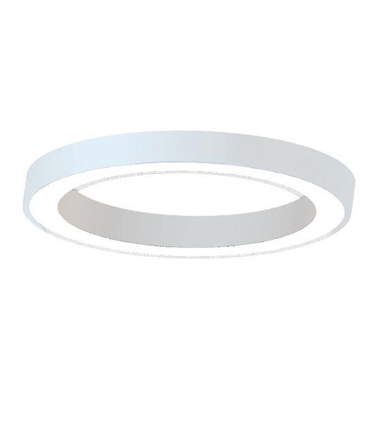Φωτιστικό οροφής μονόφωτο με Led λευκό 60cm Zambelis Lights 18295
