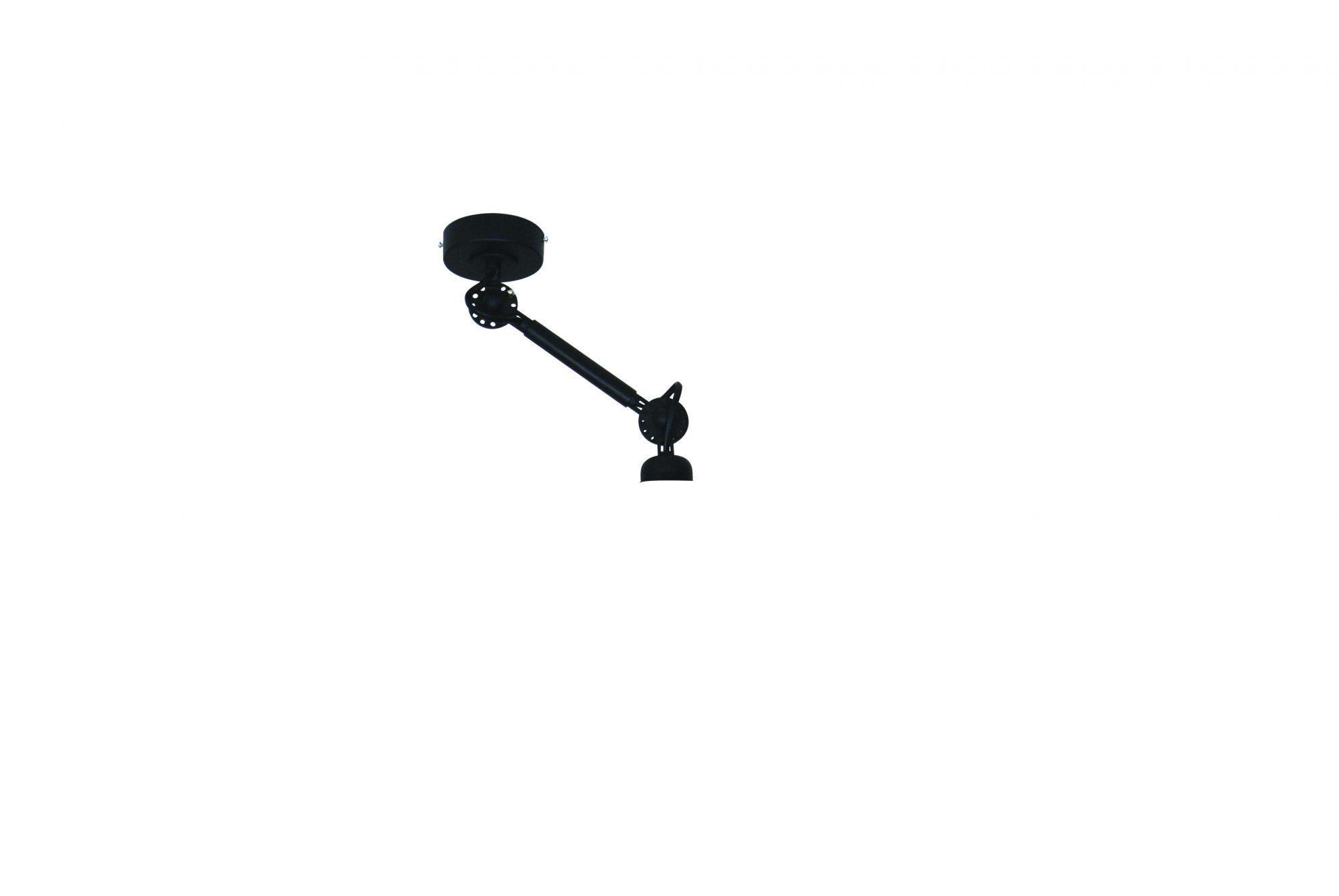Φωτιστικό οροφής κρεμαστό μονόφωτο Focus μικρό μεταλλικό μαύρο 20x8cm Home Lighting 77-3298