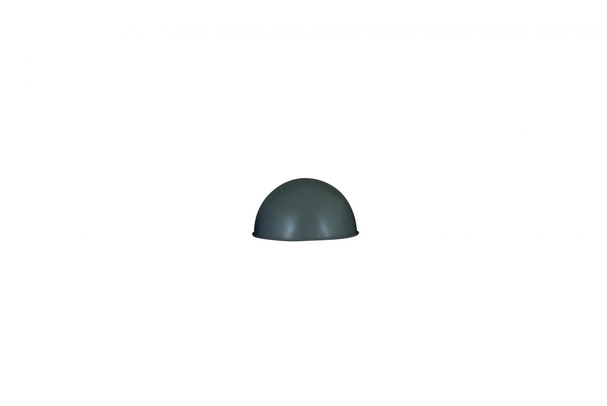 Καπέλο φωτιστικού στρόγγυλο μεταλλικό γκρι 17x9xcm Home Lighting 77-3325