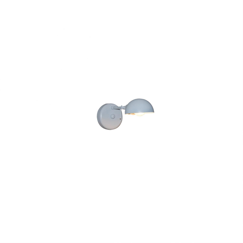 Απλίκα τοίχου περιστρεφόμενη 180° μονόφωτη Alison μεταλλικη λευκή 26×14.5cm Home Lighting 77-3959