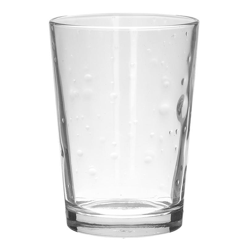 S/3 Ποτήρι νερού 500cc γυάλινο διάφανο Inart 6-60-221-0009