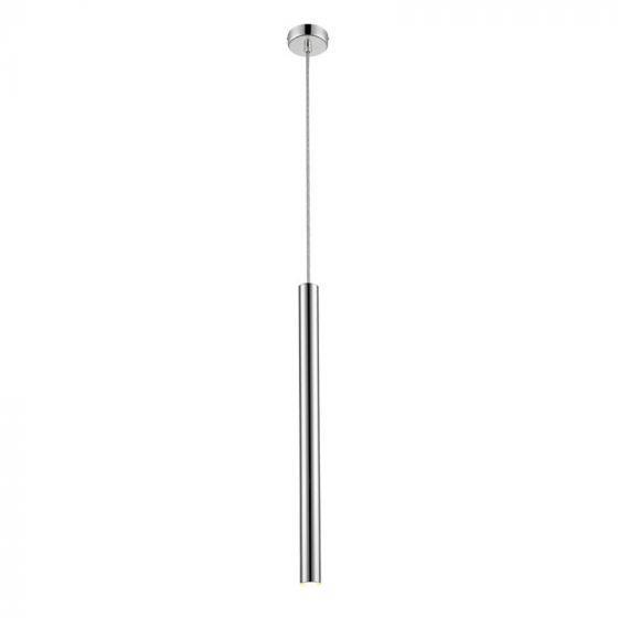 Φωτιστικό οροφής κρεμαστό Led Elliot αλουμινίου ασημί 8x140cm Viokef 4201701