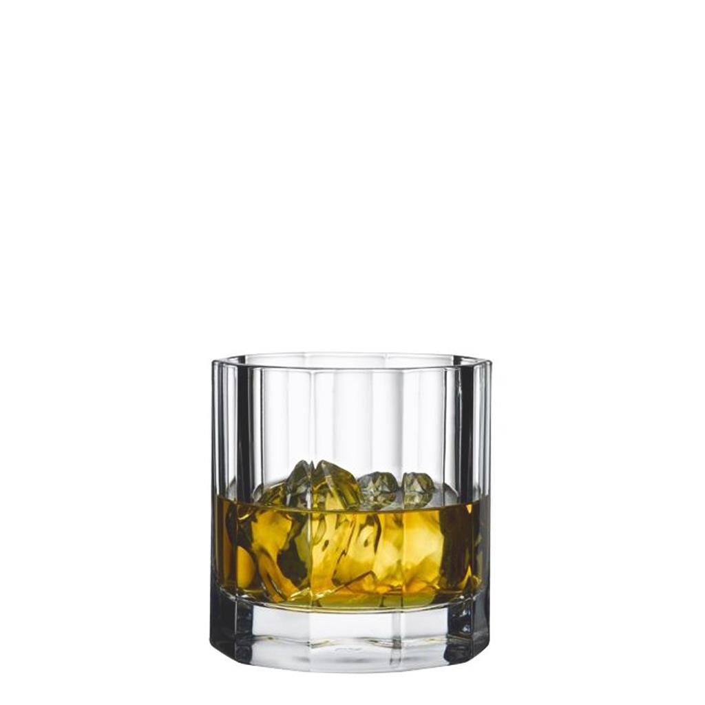S/4 Ποτήρι ουίσκυ nude churchill 310ml διάφανο 8.8×8.8×9.1cm Espiel NU68004-4