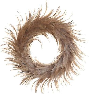 Φτερά/Στεφάνι χρυσό 20cm Inart 3-70-355-0043