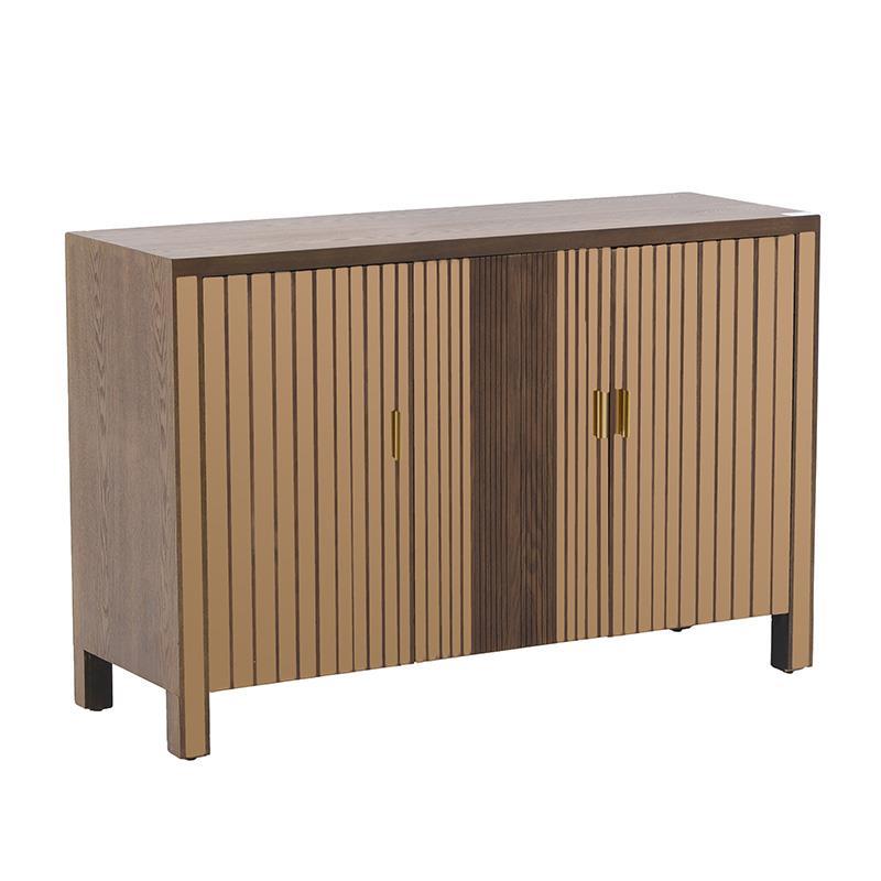 Ντουλάπι ξύλινο/καθρέπτη natural 120x40x80cm Inart 3-50-280-0012