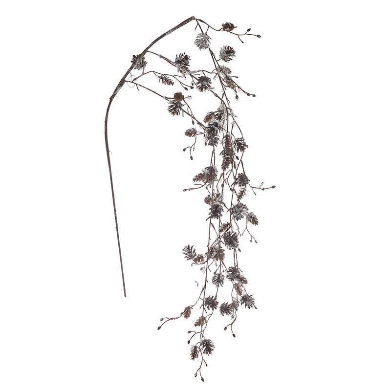 Κλαδί/Φυτό διακοσμητικό κουκουνάρια pl Inart 3-85-084-0065