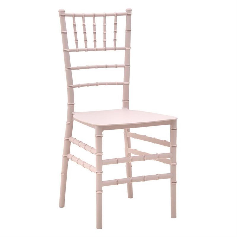 Καρέκλα pp ροζ 41x48x89.5cm Inart 3-50-842-0003