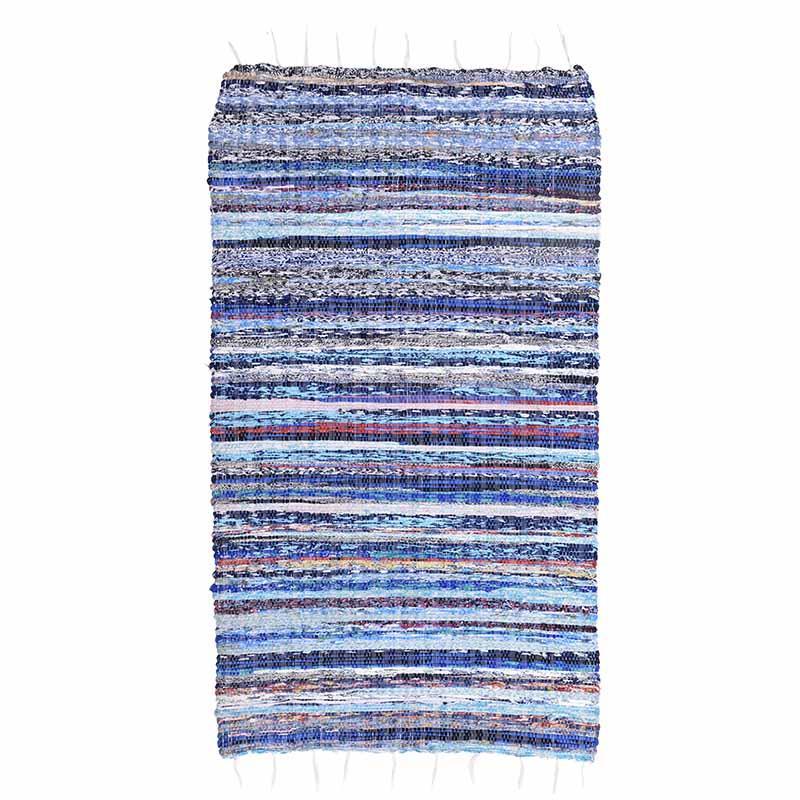 Κιλίμι Chindi υφασμάτινο πολύχρωμο 60x120cm Inart 3-35-806-0005
