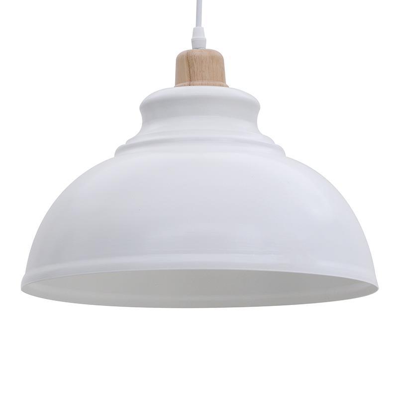 Φωτιστικό οροφής μεταλλικό λευκό 30x108cm Inart 3-10-774-0038