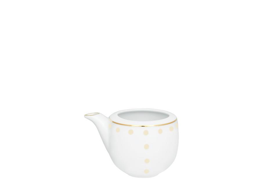 Γαλατιέρα/Σαλτσιέρα πορσελάνινη λευκή/χρυσή J'Adore ΙΩΝΙΑ 3181125