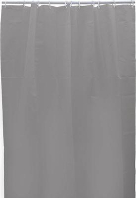 Κουρτίνα μπάνιου υφασμάτινη μπεζ 180x200cm Inart 6-40-508-0005