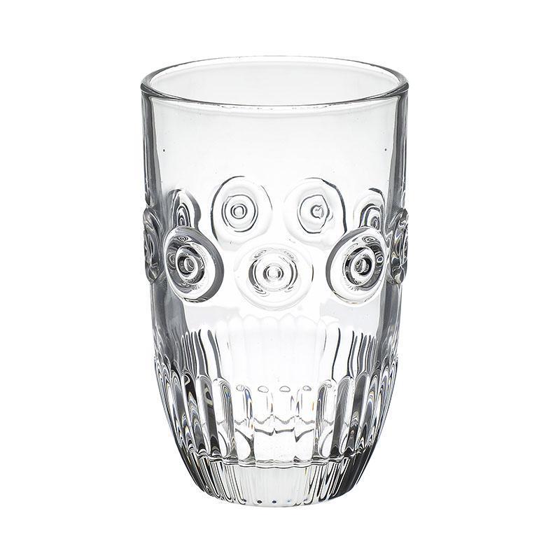 S/6 Ποτήρι νερού γυάλινο διάφανο 380ml Inart 6-60-095-0002