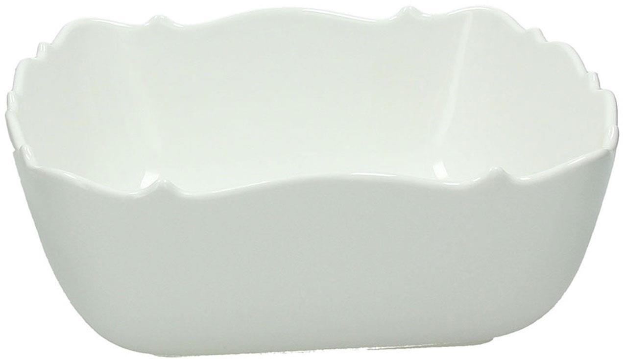 Σαλατιέρα πορσελάνινη λευκή Δ25cm Kalika Bianco