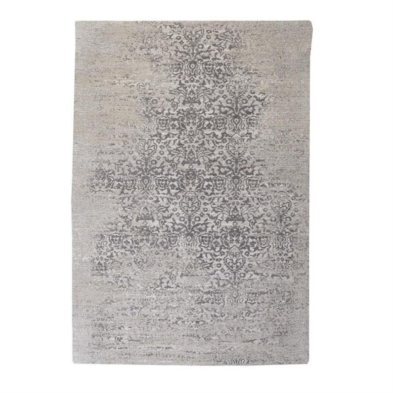 Χαλί βαμβακερό/σενίλ γκρι/μπεζ 120x180cm Inart 3-35-419-0082