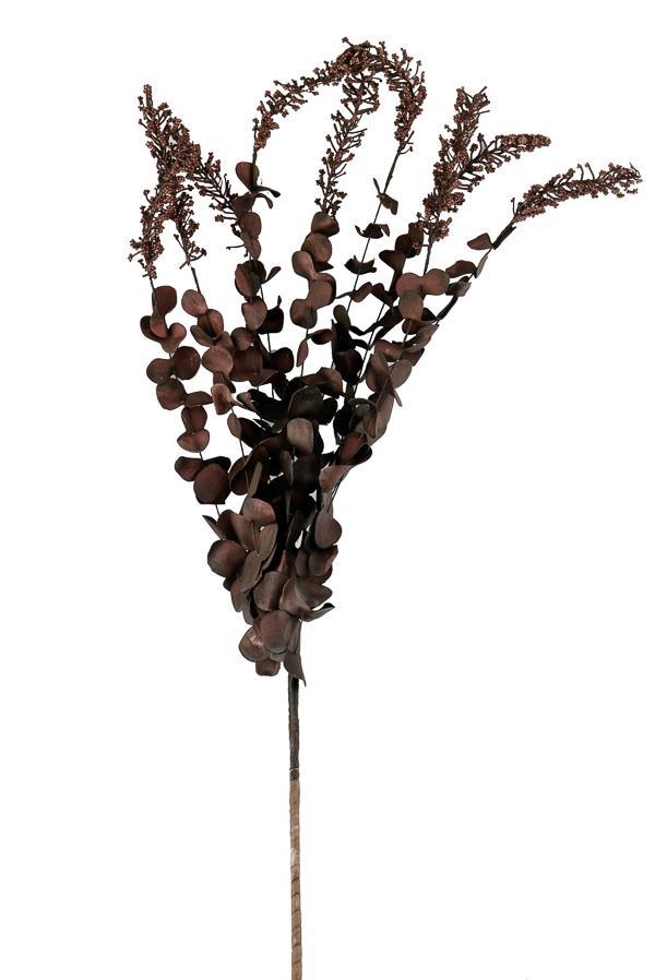 Κλαδιά διακοσμητικά με φύλλα καφέ