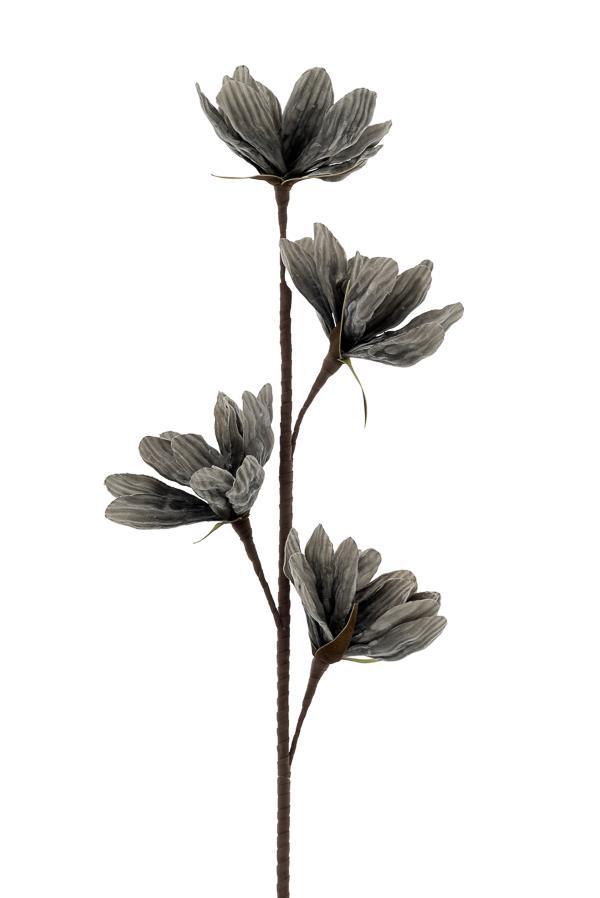 Λουλούδι διακοσμητικό γκρι/καφέ