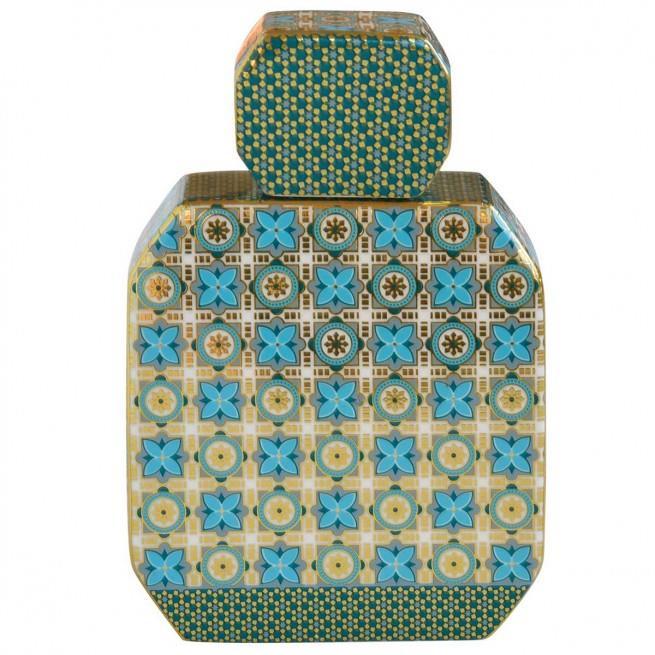 Μπουκάλι αρωματικού χώρου hammam 380ml & sticks κεραμικό πράσινο Marva 2060ΑΜΗG