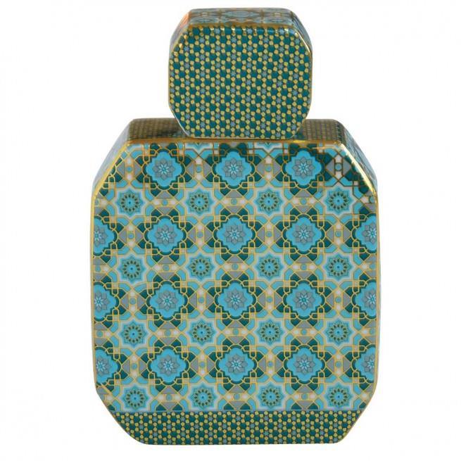 Μπουκάλι αρωματικού χώρου hammam 225ml & sticks κεραμικό πράσινο Marva 2061ΑΜΗG