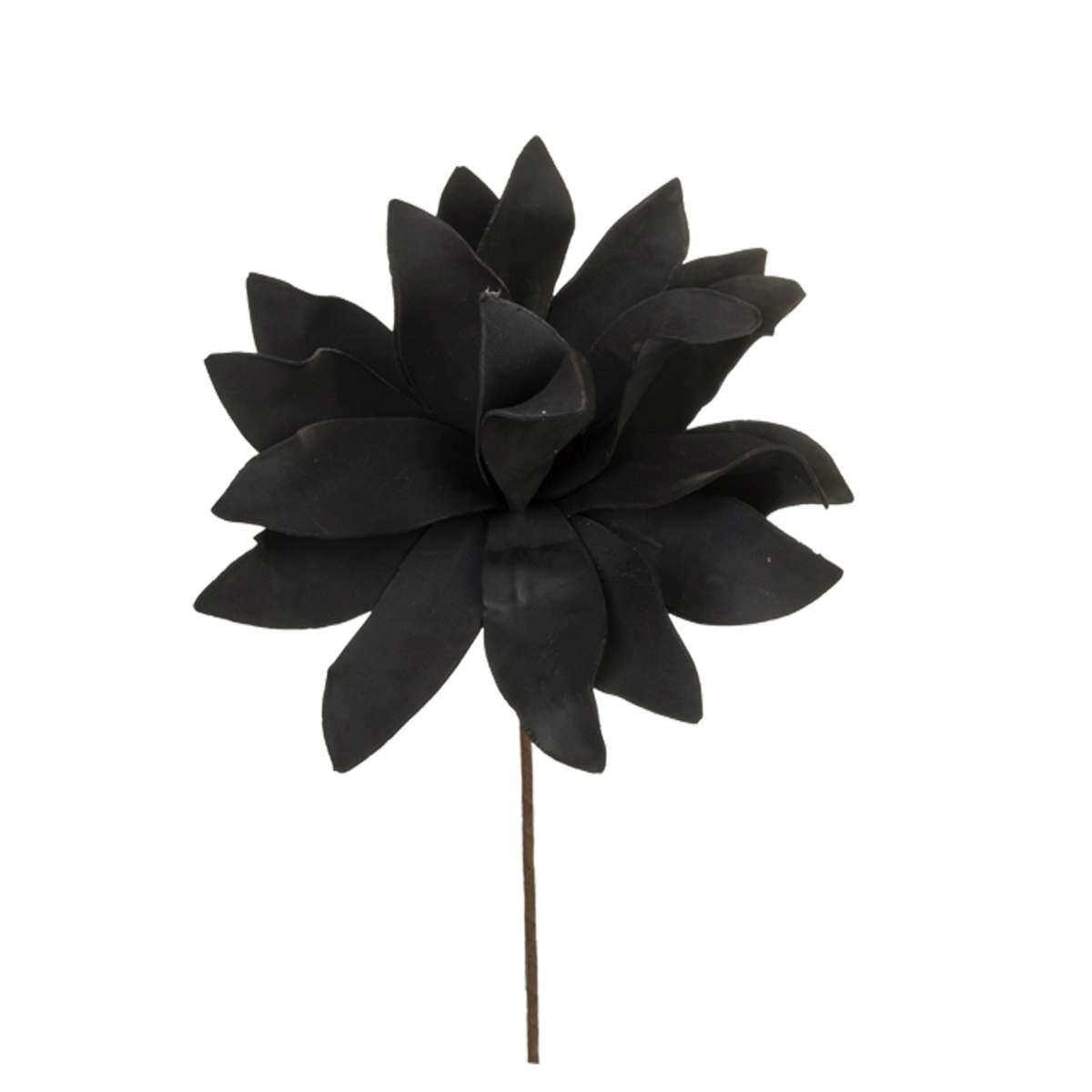 Λουλούδι διακοσμητικό μαύρο Υ60cm