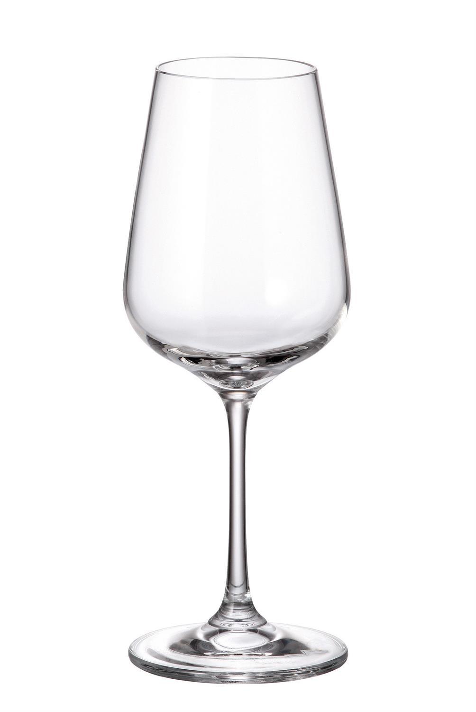 S/6 Ποτήρι λευκού κρασιού κρυστάλλινο Bohemia Strix 360ml