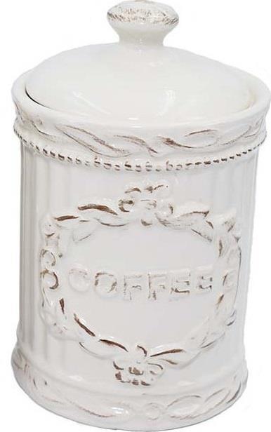 Βάζο καφέ κεραμικό λευκό/μπεζ 16.5cm