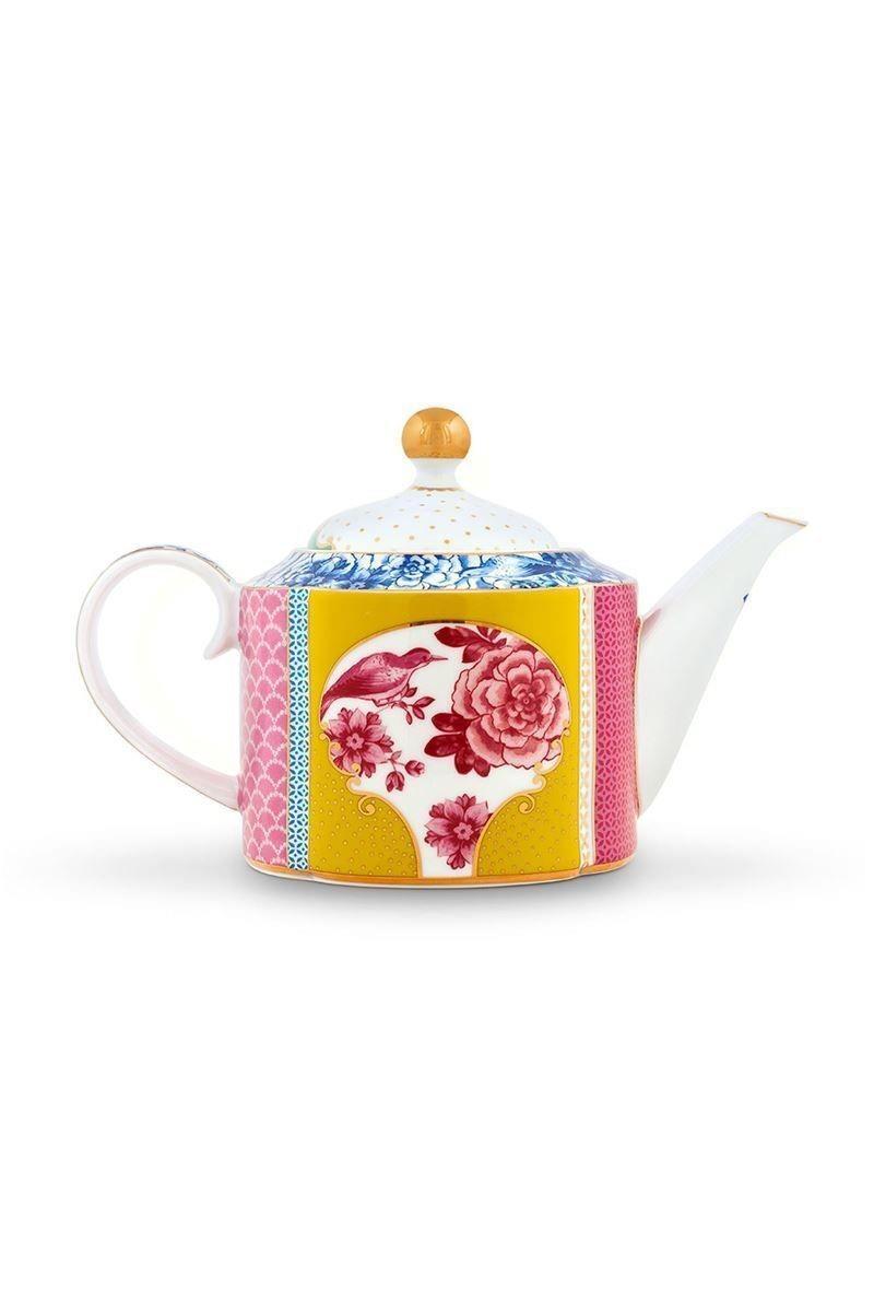 Τσαγιέρα Royal Floral 900ml πορσελάνινη πολύχρωμη Pip Studio 51005040