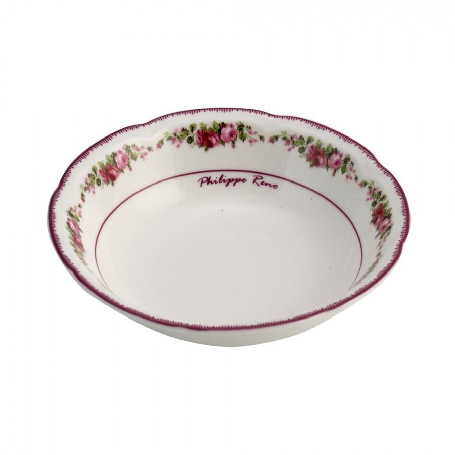 Μπωλ Blossom πορσελάνινο παστέλ ροζ/φλοράλ Δ20cm