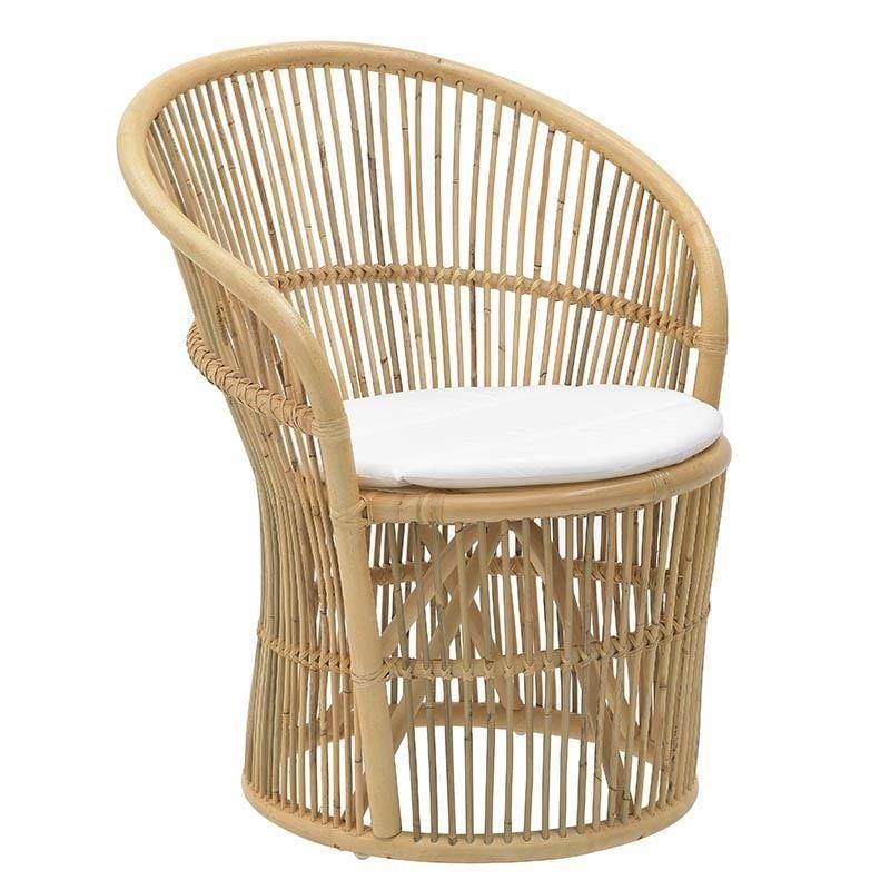 Μπόχο ξύλινη καρέκλα 3-50-646-0009 σε natural χρώμα και 82 εκατοστά σε ύψος. Ιδανική για να διακοσμήσετε το σαλόνι, την κουζίνα,