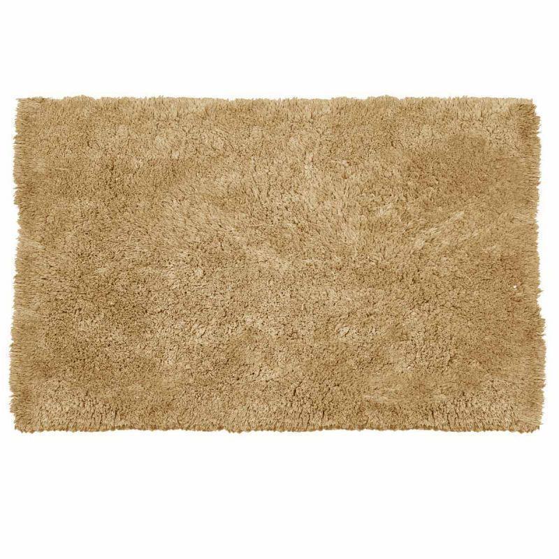 Πατάκι/ταπέτο μπάνιου Fluffy βαμβακερό κρεμ 50x80cm Estia 02-7393