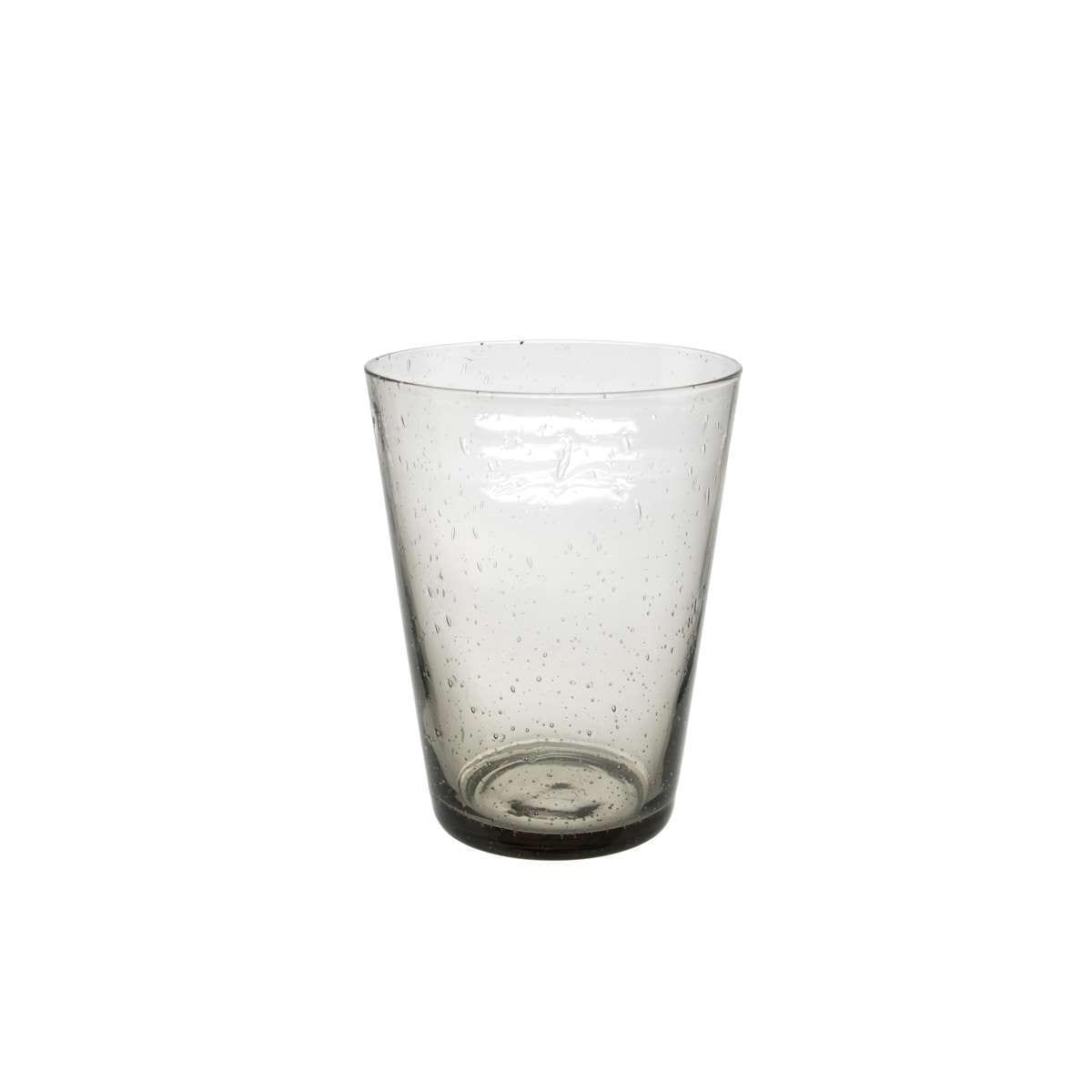 S/6 Ποτήρι ουίσκυ φυσητό Sunset γυάλινο γκρι φιμέ 330ml