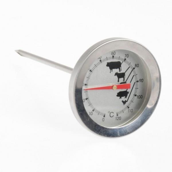 Θερμόμετρο κρέατος ανοξείδωτο ασημί