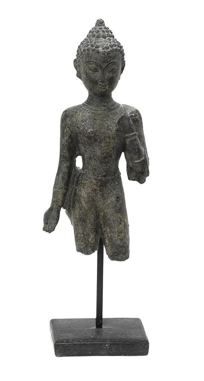 Διακοσμητική φιγούρα Βούδας polyresin μπεζ 14x9x44cm Espiel ELE123