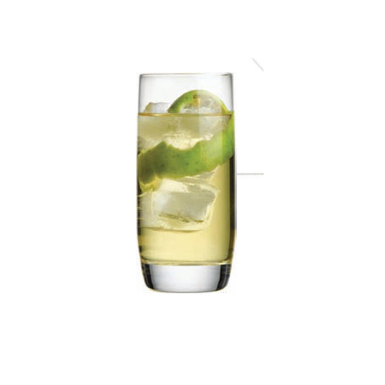 S/6 Ποτήρι ποτού 340ml γυάλινο διάφανο Espiel FD64043