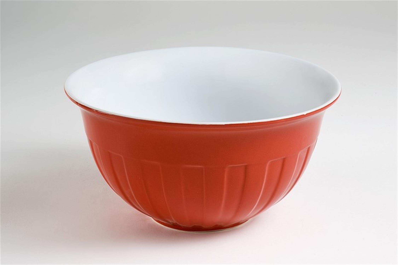 Σαλατιέρα stoneware κόκκινη 23x12cm Espiel GAO101/L