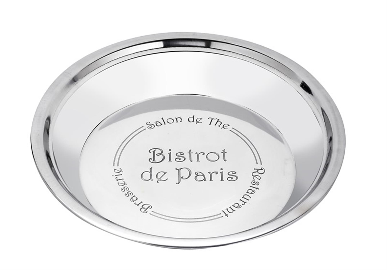 Μπωλ Bistrot de Paris ανοξείδωτο ασημί 31x31x5cm Espiel LES124