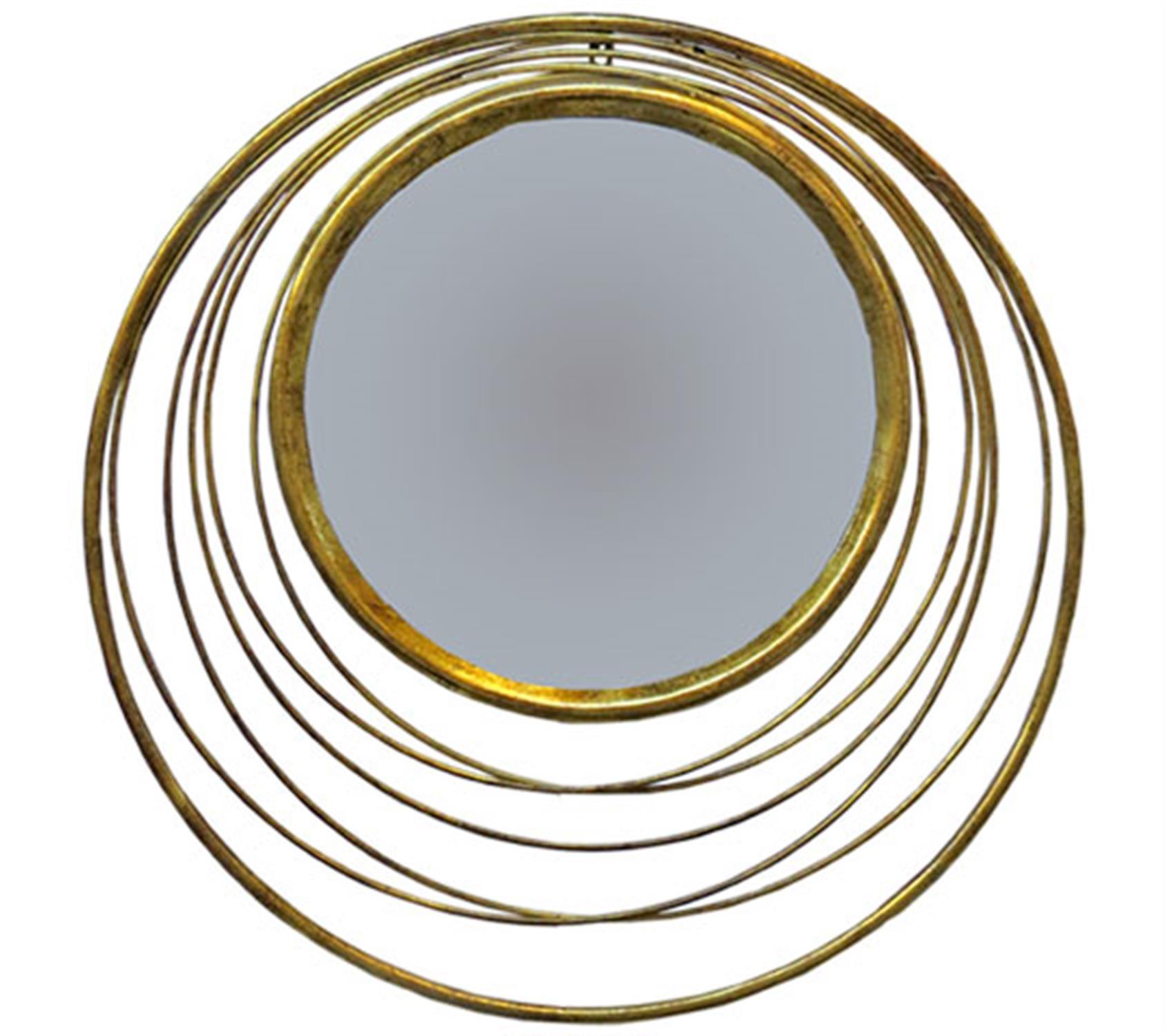 Καθρέπτης στρογγυλός μεταλλικός Φ73cm